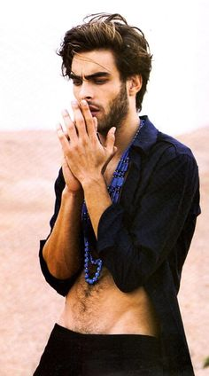 Jon Kortajarena .... I'm just going to write every male lead in his image now. BECAUSE I CAN. Boom.