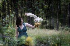 woman & owl