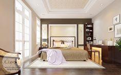 Thiết kế nội thất biệt thự Ciputra phong cách Tân Cổ Điển
