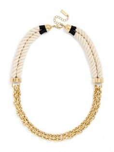 The Mayflower Rope Links are the perfect casual-cool piece.