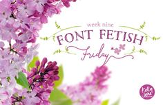Font Fetish Friday 9 on Kelly Jane Creative http://kellyjanecreative.com/2015/03/06/font-fetish-friday-9/