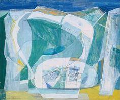 Wilhelmina Barns-Graham, Glacier Crystal, Grindelwald, 1950 pinkpagodastudio