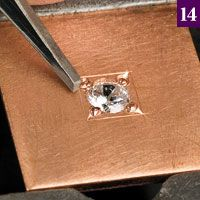 Part 23: Bright Cut BoxNOTE: The procedures described in this article are standard practices for bench jewelers. If not executed properly, however, they can cause harm. Neither the author nor publisher assumes responsibility for injuries, losses, or damage that may result from the use or misuse of this information.Along the way to learning the art…