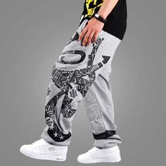 Wholesale Hip Hop Pants - Buy Men Harem Baggy Sweat Pants Athletic Sport Casual Sport Hip Hop Dance Trousers Slacks Joggers SweatPants Men's Clothing Bbox, $16.44 | DHgate