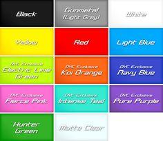Plasti Dip Colors