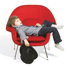 Womb chair kids