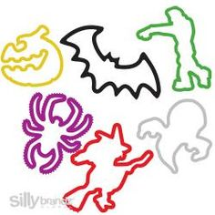 Silly Bandz - Halloween Shapes