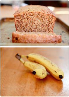 Peanut Butter Banana Bread!