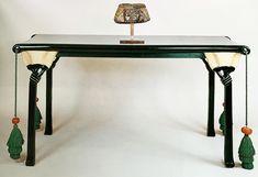 Eileen Gray lotus table designed for Jacques Doucet, 1913 Eileen Gray, Lotus, Entryway Tables, Art Deco, The Originals, Grey, Furniture, Instagram, Design