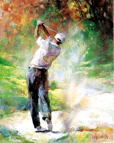 Classy Choosing a Golf College Ideas. Delicate Choosing a Golf College Ideas. Swing Painting, Golf Painting, Sports Painting, Public Golf Courses, Best Golf Courses, Golf Fotografie, Golf Card Game, Dubai Golf, Golf Art
