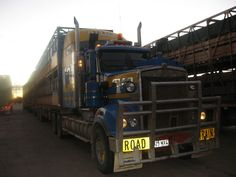 Golden quest discovery trail part 1 road train discovery and rta kenworth t904 triple road train longreach queensland karl flickr publicscrutiny Images