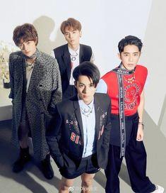 Meteor Garden Cast, Meteor Garden 2018, Korean Star, Korean Men, Beautiful Boys, Meteor Rain, Shan Cai, Cat Garden, Korean People