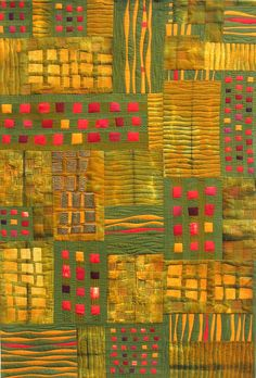 """love the structure - not the colors Duplicity, 46 x 31"""", by Carol Taylor"""