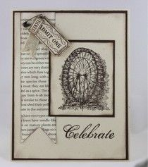 Feeling Sentimental from Stampin' Up! Sale-A-Bration Catalog..additional product from 2013 Spring Catalog finish this card