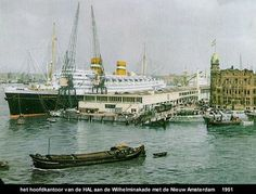 Rotterdam, Holland America Line, Us Sailing, Old Port, Ship Art, Old Pictures, Netherlands, Dutch, Around The Worlds