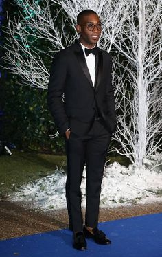 Tinie Tempah wearing the Foxley Loafers by Jimmy Choo