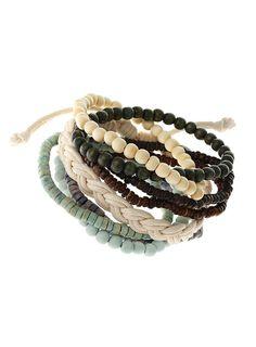 men's beaded bracelets. ---> FOLLOW US ON PINTEREST for Style Tips, Men's Basics,  Men's Essentials on anything, OUR SALES etc... ~   VujuWear