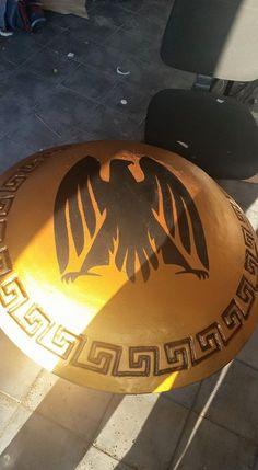 Scudo greco #lps #larp #cosplay #grv #forgiadellupo #brenin #latex #weapon #lattice #armi #fantasy #scudo #shield