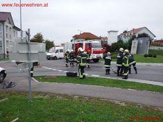 Freiwillige Feuerwehr Weistrach: 2 Verkehrsunfälle #firefighters