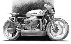 RocketGarage Cafe Racer: Moto Inspired Design