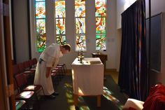Dominican School of Philosophy and Theology Mass of the Holy Spirit. Our DSPT community having a holy and happy time!
