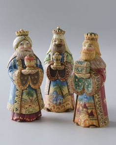 Nativity King Set by G. DEBREKHT at Neiman Marcus.