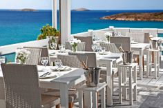 Hotel Perrakis welcomes you in Andros, on a perfect location near two beautiful beaches, on Kypri Bay. Get to know a unique Cycladic island. Greece Islands, Outdoor Furniture Sets, Outdoor Decor, Beautiful Beaches, Restaurant, Patio, Traditional, Home Decor, Homemade Home Decor