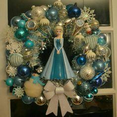 Elsa wreath