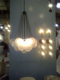 Lighting from @appartusstudio #ICFF
