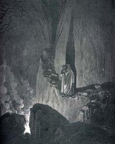 Illustration of Divine Comedy, Inferno