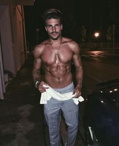 WEBSTA @ marianodivaio - Sorry, it's too hot here Cool Haircuts, Cool Hairstyles, Charming Man, Cute Guys, Mens Fitness, Pretty Boys, Nice Dresses, Cool Style, How To Look Better
