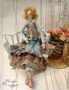 Купить Кукла в стиле Бохо: Веста - тильда, кукла Тильда, куклы тильды, тильда кукла