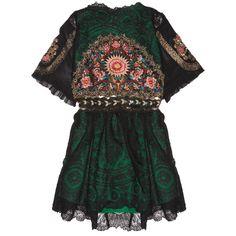 One Vintage Adriana dress (€1.465) ❤ liked on Polyvore featuring dresses, vestidos, tops, vintage beaded cocktail dress, sheer lace dresses, vintage cocktail dresses, lace dress and vintage sequin dress