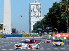 Super Car competition TC2000 (V8 engines) came to the center of Buenos Aires!    la competencia de autos Super TC2000 (motores V8) llego al centro de buenos aires!!!