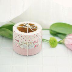 Surtido 3 Fabric Tape romántico tonos rosa 1,5 cm x 3 metros x 3