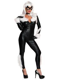 Women's Sexy Marvel Sexy Black Cat Costume - Wholesale TV & Movie Costumes…