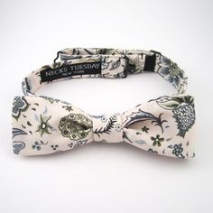 Liberty Skinny Bow Tie. $68, via The Cools