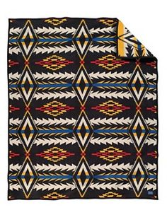 If only my dad would give me one of his many Pendleton blankets!!  i want this one!! Midnight Eyes Blanket