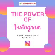 How are You leveraging The Power of Instagram for your business (in addition to Facebook)? 🤷  Watch this short video 📽 of current Instagram Stats & Demographics that demonstrates why you should be building your Instagram audience and presence now.  💯% Your Current and Future customers are here! 🙋 🙋♂️  If you don't build, your competitors will...