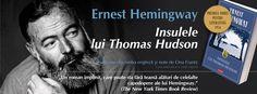 """Insulele lui Thomas Hudson"", de Ernest Hemingway / Editura Polirom Roman, Ernest Hemingway, Yorkie, Yorkies, Yorkshire Terrier, Yorkshire Terriers"