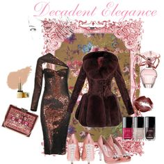"""Decadent Elegance"" by rhinestonesandrouge on Polyvore"