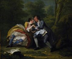 After, by William Hogarth, 1731