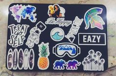 Decorate your laptop! laptop stickers from red bubble ((: officially obsessed… Stickers Cool, Bubble Stickers, Mac Stickers, Image Positive, Laptop Screen Repair, Inspiration Artistique, Macbook Stickers, Macbook Decal, Laptops For Sale