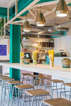 """Wallpaper* on Twitter: """"London's @4hundredrabbits is a bright, sourdough pizza joint named after Aztec folklore http://t.co/EWINIbfjaa http://t.co/B9rQqA9aWv"""""""