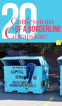 20 Confessions of a Borderline Cheapskate - The Krazy Coupon Lady Frugal Living Tips, Frugal Tips, Ways To Save Money, Money Saving Tips, Money Savers, Extreme Cheapskates, Do It Yourself Organization, Coupon Organization, Money Management