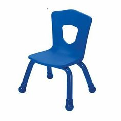 "7.5"" Plastic Classroom Stacking Chair (4 Pack) Seat Color: Royal Blue by Brite Kids. $148.99. 34516 Seat Color: Royal Blue Features: -Stacking chair.-Intended for both children and teachers.-Reinforced steel back for added support.-Legs fitted with plastic boots.-Easy to lift and carry.-Shield-shaped cut out back of chair promotes proper sitting posture.-Capacity: 300 lbs. Warranty: -Limited lifetime warranty."