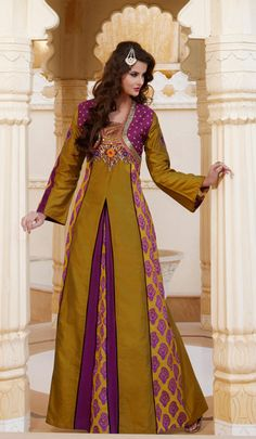 kaftan jalabiya caftan abaya long dress by Orientalstore on Etsy