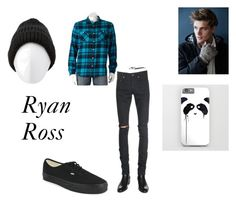 """""""Ryan Ross"""" by imaginestronger ❤ liked on Polyvore featuring Urban Pipeline, Yves Saint Laurent, Vans and Charlotte Russe"""