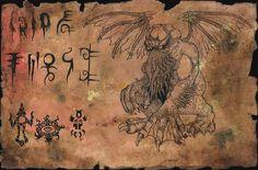 Unaussprechliches Dokument 001 Anbetung von Cthulhu <br> <br>Fundstücke verbotener Kulte.