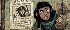 Amala's Blade #1, Its POC Female Assassin Protagonist, And Its Drunk Ghost Monkey